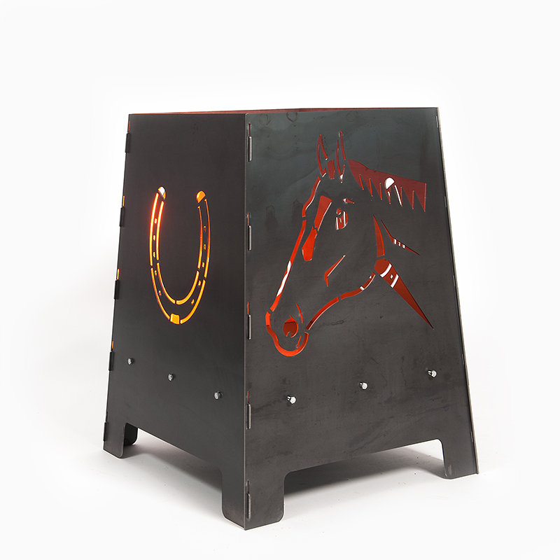 Feuerofen Pferd