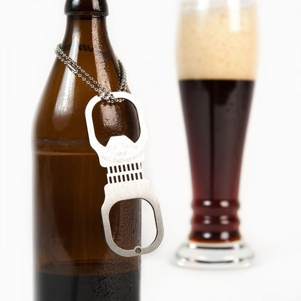 Flaschenöffner Handschelle