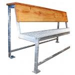 Up-Sitzbank für Lehnensitzer