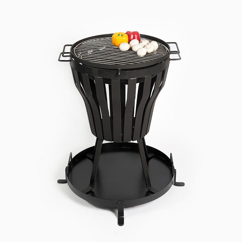 grilleinsatz mit va rost zu feuerkorb uelzen. Black Bedroom Furniture Sets. Home Design Ideas